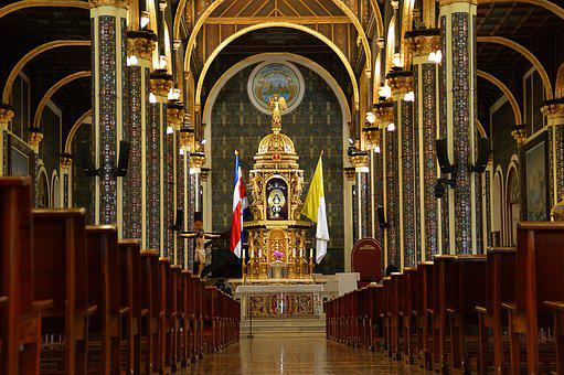 Sanctuary, Church, Religion, Architecture, Christian