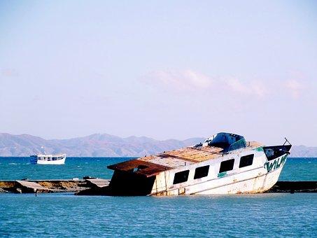 Cumaná, Cumana, Venezuela, Costa, Sea, I Boat, Sucre