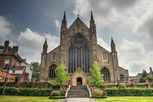 Cathedral, Worcester, Architecture, England, Church