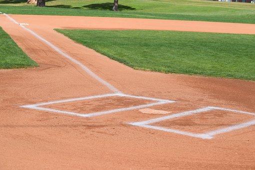 Baseball, Batters Box, Sport, Game, Field, 3rd Base