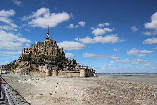 France, Mont-saint-michel, Abbey, Mont Saint Michel