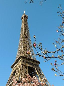 Paris, Eiffel Tower, France, Monument, Famous, Capital