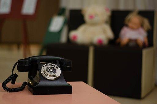 Phone, Vintage, Call, Nostalgia, Writer, Classic, Old
