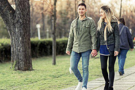 Young People, Couple, Pair, People, Boy, Girl, Romantic