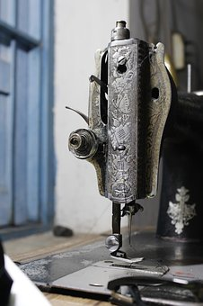 Sewing Machine, Old, Vintage, Sew, Antique, Needle