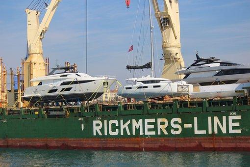 Ship, Yacht, Boat, Shipping, Transport, Logistics, Port