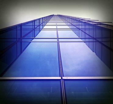 Building, High, Architecture, Blue, Sky, Modern, Urban