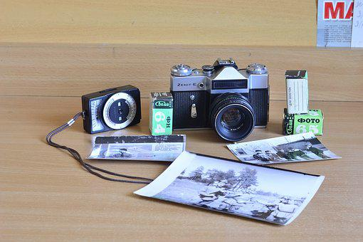 Camera Zenit, Camera, Zenith, Lens, Photo, The Ussr