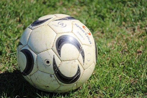 Football, Ball, Football Ball, Grass, Stadium