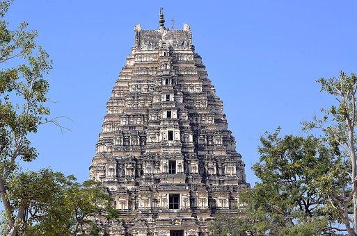 Hampi, India, Indian, Ancient, Culture, Architecture