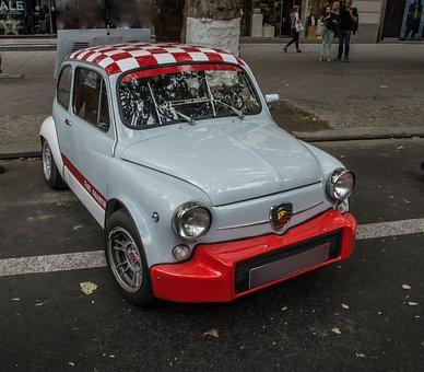 Fiat, Abarth, Sports Car, Italian, Oldtimer, Racing Car