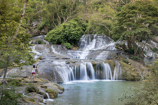 Lang Son, The Waterfall, Vietnam, Posted Curious