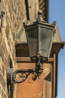 Antique, Lantern, Lamp, Light, Design, Lighting