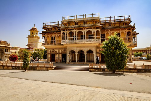 India, Rajasthan, Jaipur, Building, Palace
