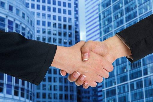 Business, Woman, Man, Professional, Communication, Deal