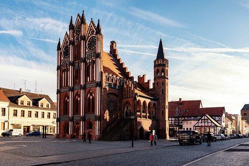 Germany, Saxony-anhalt, Tangermünde, Historically