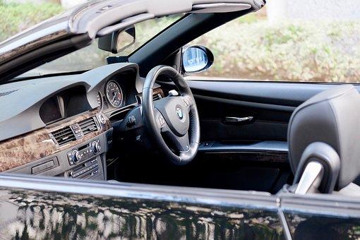 Open Car, Handle, Dashboard, Seats