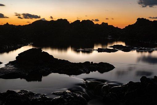 Sunset, Mountains, Landscape, Nature, Sunrise, Sky