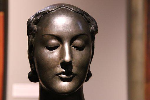 Sculpture, Bronze, Woman, Art, Statue, Figure, Artwork
