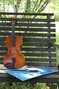 Viola, Violin, Summer, Music, Classic, Note, Musician