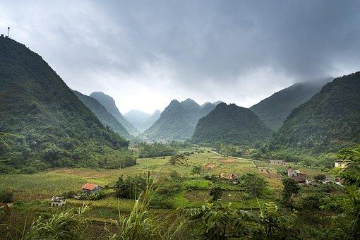 Bac Son, Silk, Field, The Valley, Vietnam