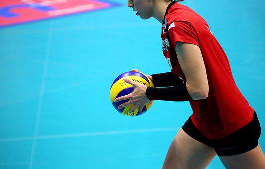 Volleyball, Premium, Player, Ball, Volley, Ball Sports