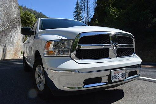 Auto Tires, Co2, Auto, Dodge, Usa, America, California