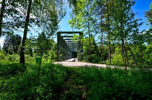Hiking, Bridge, Nature, Pedestrian Bridge, Architecture
