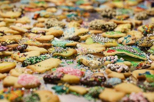 Cookies, Cookie, Sugar, Bake, Advent, Christmas