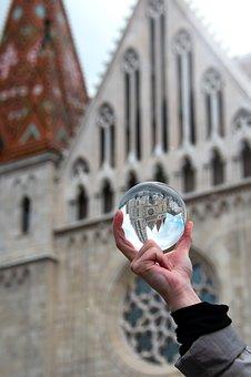 Glass Globe, Fotógömb, Buda Castle, Budapest