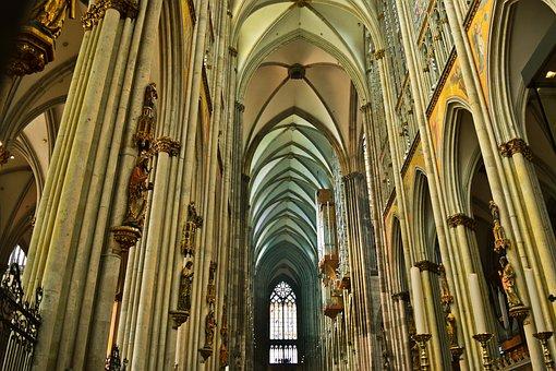 Architecture, Church, Religion, Building, Church Window