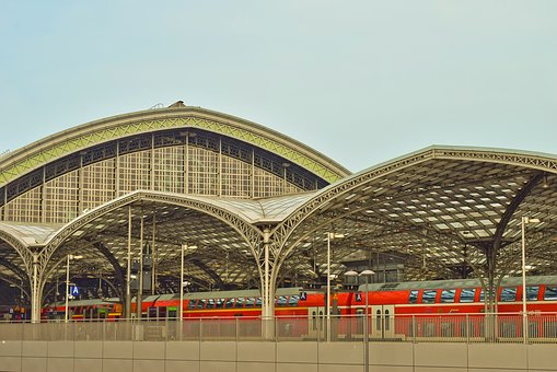 Architecture, Railway Station, City, Travel, Traffic