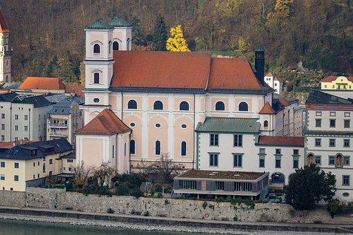 Passau, Church, Bishop Church, Baroque, Episcopal See