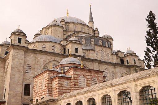 Fatih, Mosque, Cami, Minaret, Dome, Shrine, Madrasah