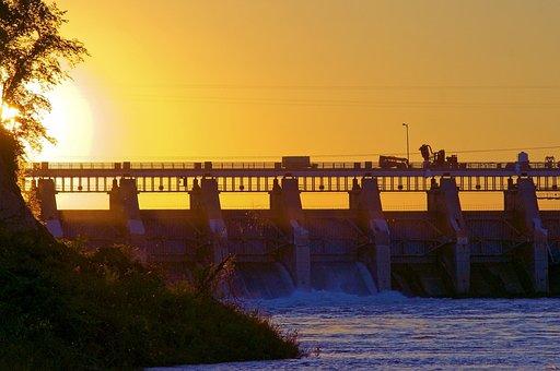 Gavins Point Dam, Missouri River, Nebraska