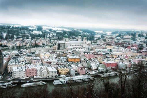 Passau, Historic Center, Danube, Niederbayern