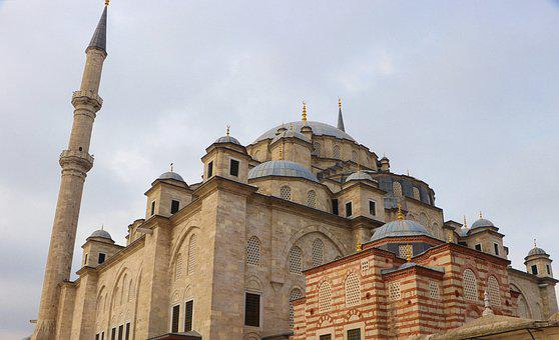 Cami, Mosque, Istanbul, Fatih, Turkey, Minaret, Islam