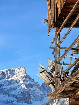 Dolomites, Alps, Mountain, Italy, Mountains, Nature
