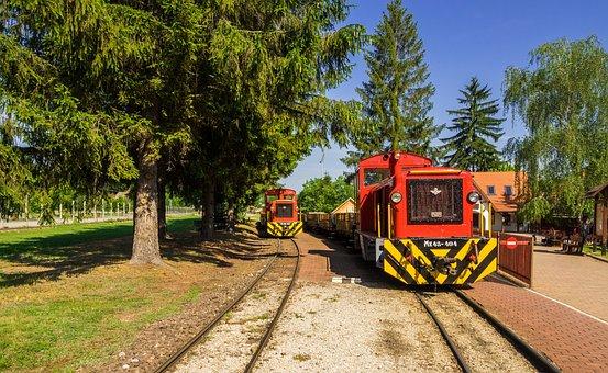Train, Railway, Small Ground, Narrow Gauge Railway
