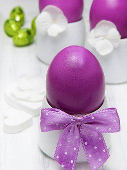 Easter Eggs, Egg Cups, Loop, Pink, Chocolate, Easter