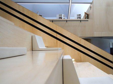 Architecture, Media Lab, Luneville, Reading Room