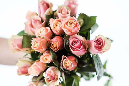 Roses, Mother's Day, Flowers, Love, Pink, Bouquet