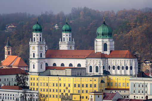 Passau, Dom, St Stephan's Cathedral, Church, Baroque