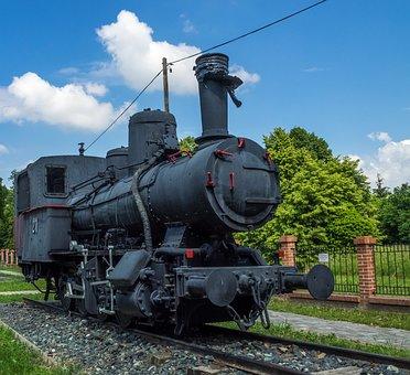 Train, Loco, Steam Locomotive, Railway, Locomotive, Old