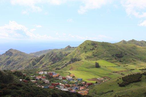 Tenerife, Canary Islands, Landscape, Nature, Panorama