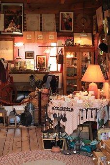 Landscape, Shop, Indoor, Lighting, Table, Antique