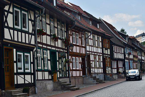 Half-timbered Houses, Area Harz, Architecture