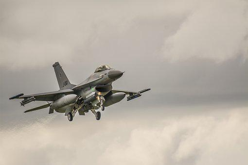 Plane, F16, Aircraft, Jet, Aviation, Fighter, Airshow