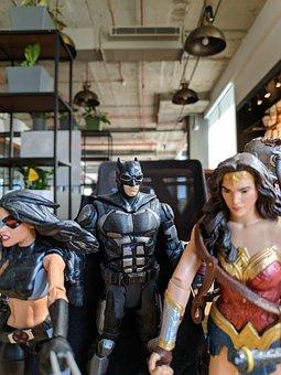 Batman, Toy, Superhero, Figure, Childhood, Toys