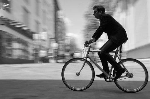 City, Bike, Cyclist, Life, Transport